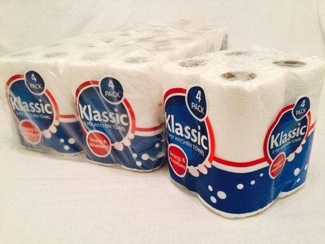 KLASSIC KITCHEN TOWEL, 10m per roll (6 x 4 Pack) image