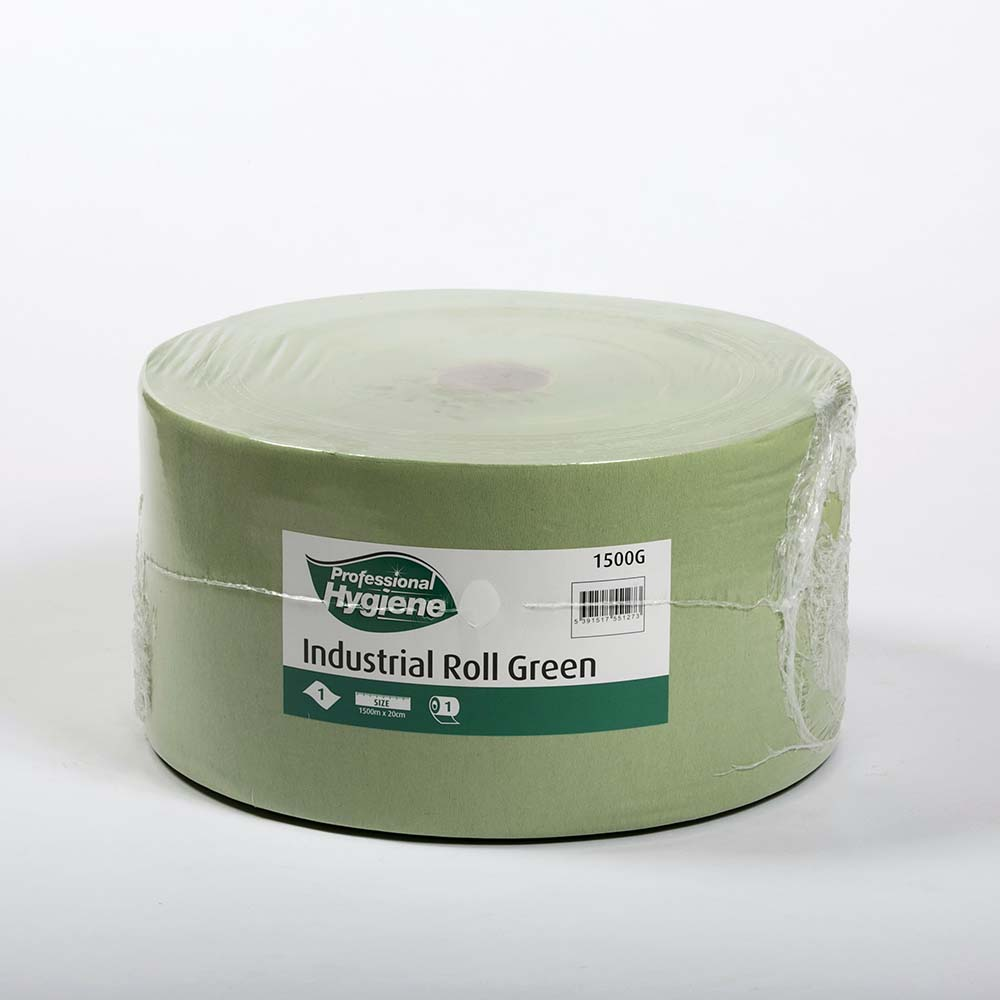 FORECOURT ROLL 1 PLY GREEN - 1500m X 20cm image