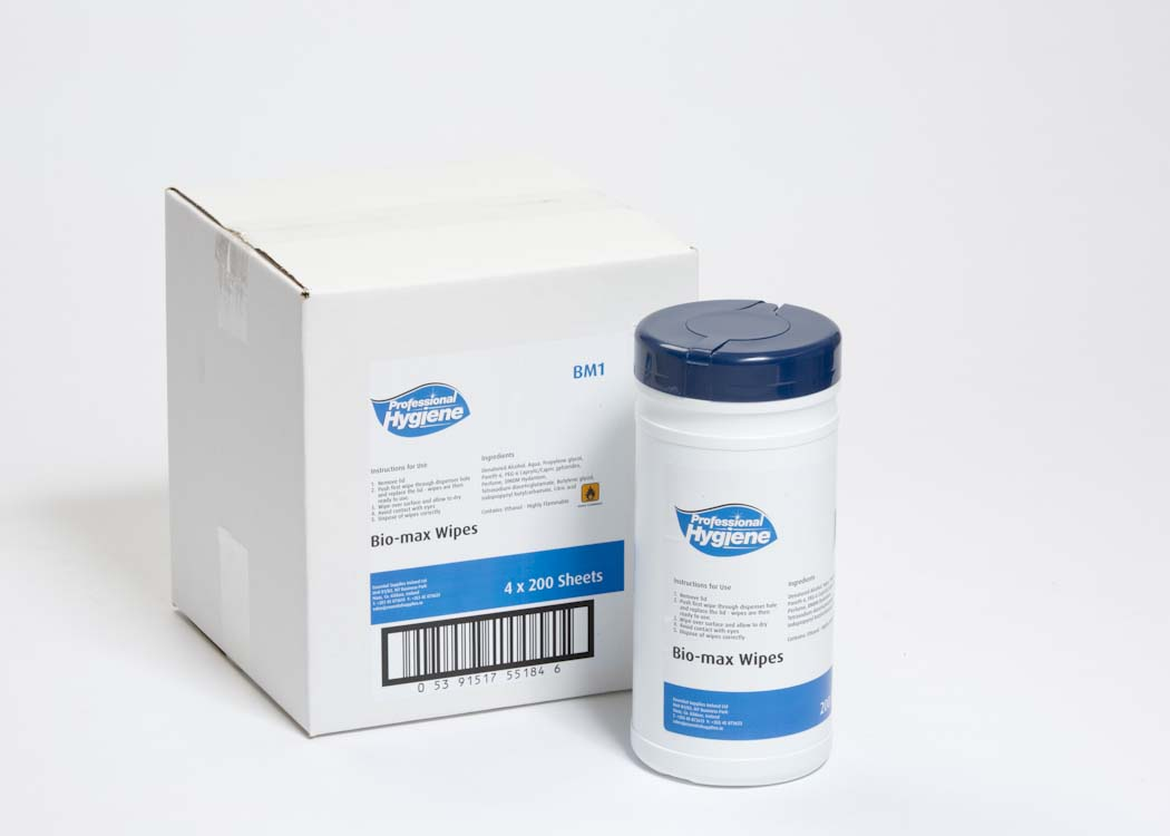 BIO-SAFE WIPES (WEILS DISEASE) image