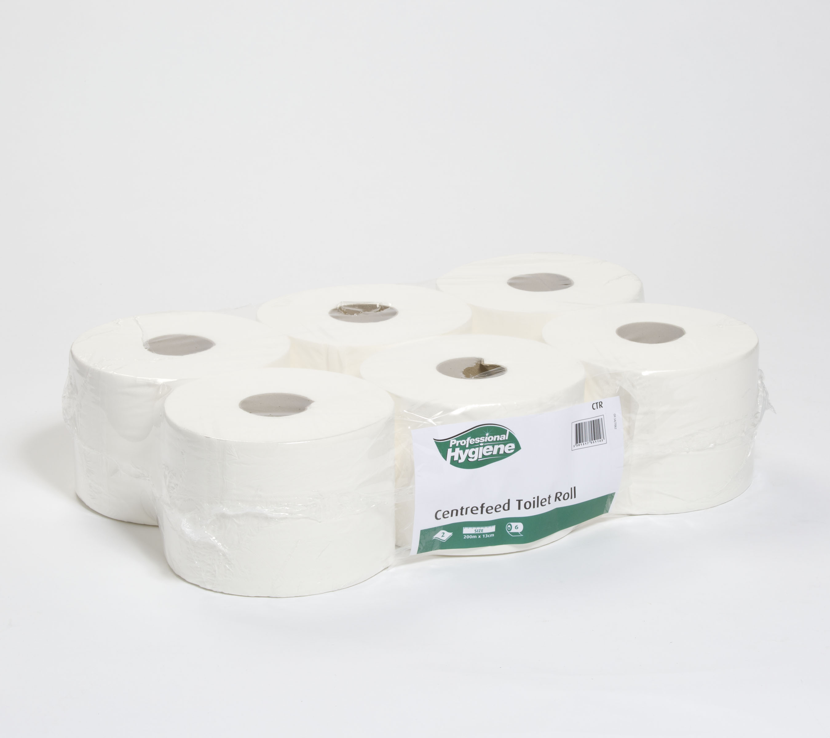CENTREFEED TOILET ROLL 2 PLY - 200M x 13cm image