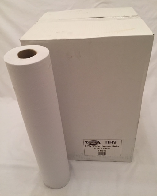 HYGIENE ROLL 2 PLY WHITE RECYCLED PAPER 20